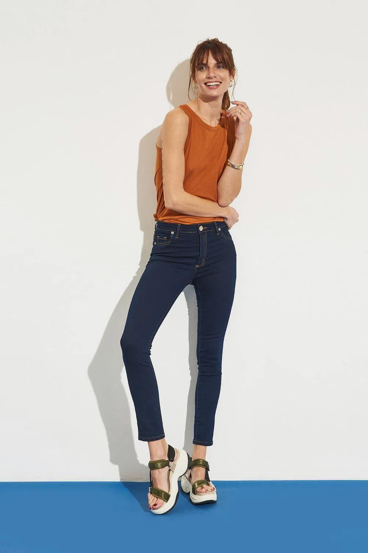 jeans de moda mujer 2022 chupin
