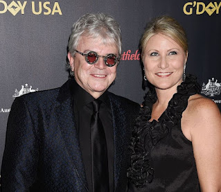 Laurie Hitchcock with her husband Russell Hitchcock