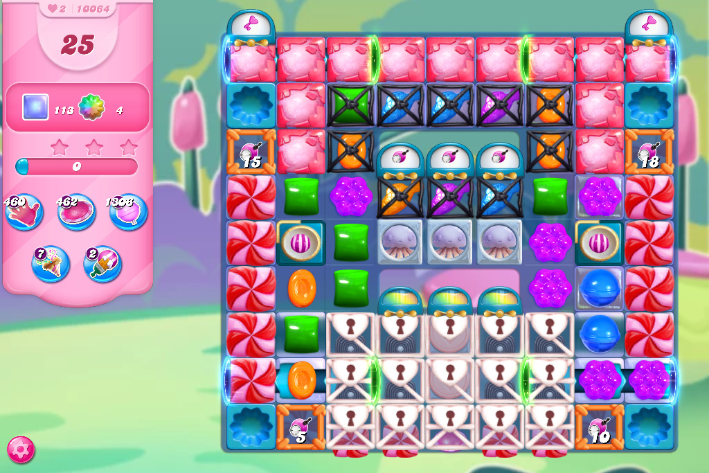 Candy Crush Saga level 10064