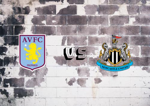 Aston Villa vs Newcastle United  Resumen