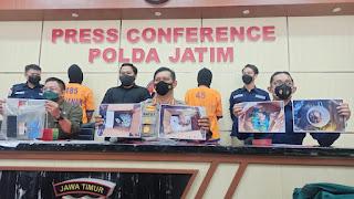 Unit I Subdit III Ditreskrimsus Polda Jatim, Ungkap Jual Beli Satwa Dilindungi