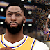 NBA 2K22 Anthony Davis Cyberface, Hair Update and Body Model (current look with short sleeves) by PPP