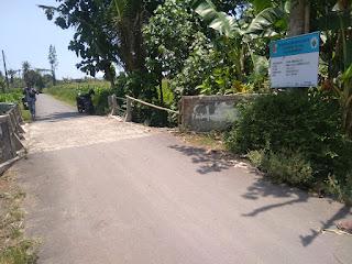 Pengerjaan Proyek Desa Glundengan Terkendala Molornya SPJ DD Tahap 1