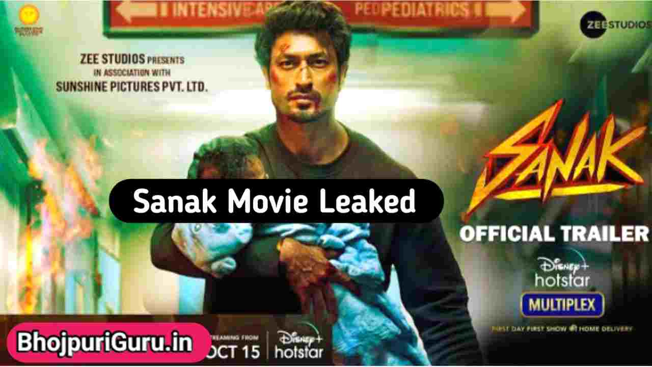 Sanak Full Movie Download 480p, 720p, 1080p 123mkv, Filmyzilla, 7StarHD - Bhojpuriguru.in