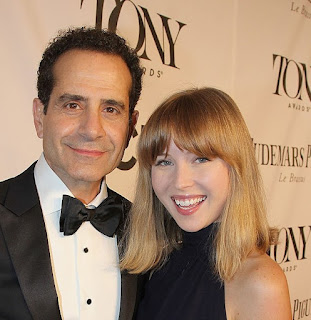 Josie Lynn Shalhoub with her Dad Tony