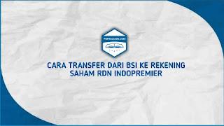 Transfer ke rekening saham