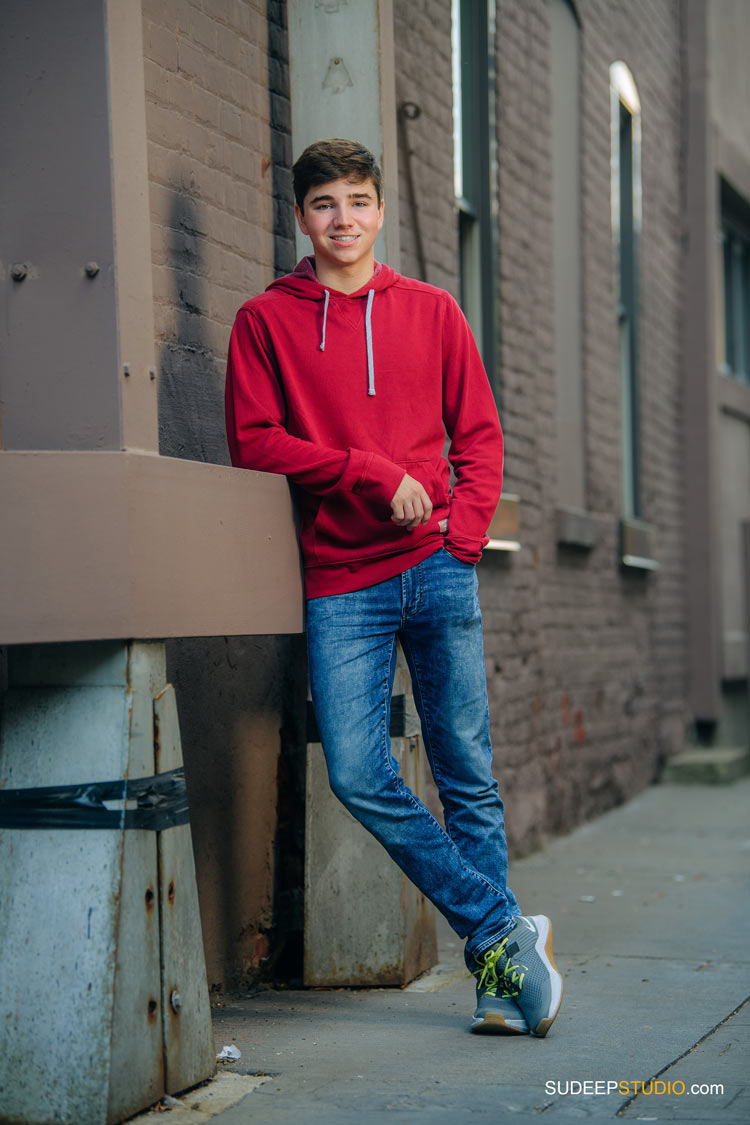 Huron High School Senior Pictures for Guys in Urban Downtown by SudeepStudio.com Ann Arbor Senior Pictures Photographer