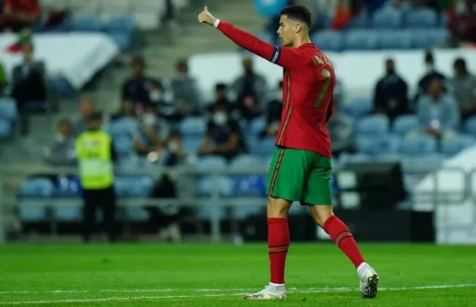Ronaldo sets new international record just days after Messi does the same