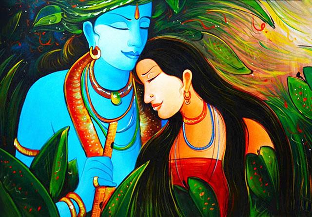 krisha bhagwan ka painting wala photo download