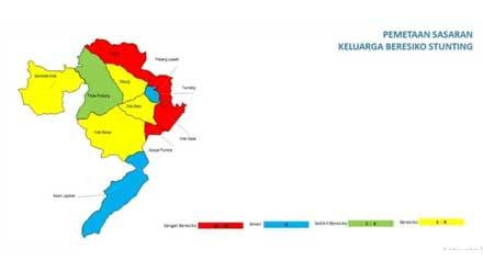 pemetaan wilayah berisiko stunting