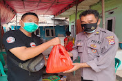 Sampaikan Duka, Kasi Humas Polres Serang Takziah ke Kediaman Wartawan