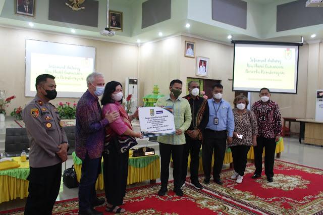 PT. Medquest Jaya Global Memberikan Bantuan Mesin PCR kepada Pemkab Sergai
