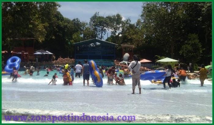 Hampir 2 Tahun Tutup, Wahana Rekreasi Waterpark Pancoran Rogojampi Banyuwangi Kembali Dibuka