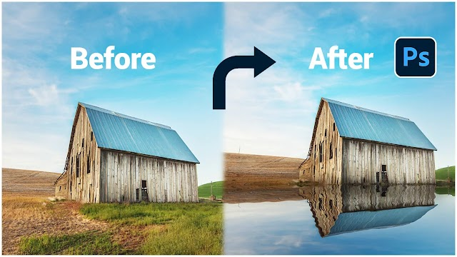 How to Make Realistic Water Ripple Reflection Effect   Adobe Photoshop Tutorial