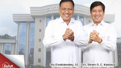 Gubernur Olly Keluarkan Surat Edaran Dispensasi untuk ASN dan THL Pemprov Sulut Untuk Pemilihan Pelsus GMIM
