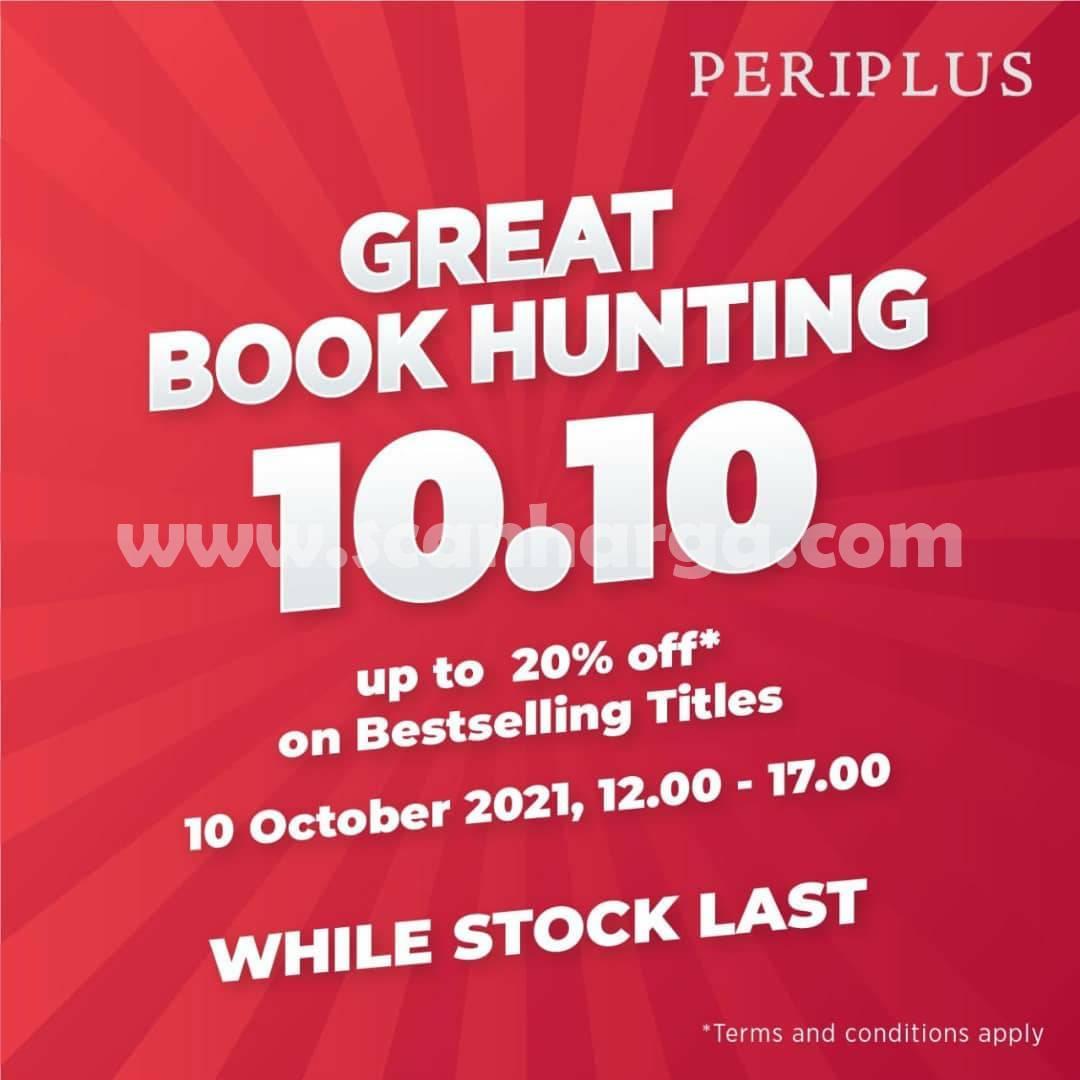 Promo Periplus Great Book Hunting 10.10 CASHBACK 15%