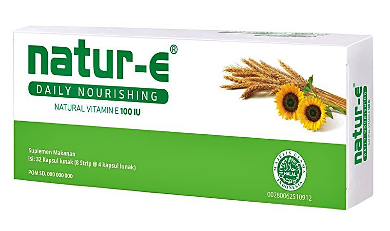 eferensi Berbelanja Suplemen Vitamin E supaya Kulit Sehat