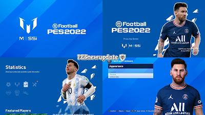 PES 2021 Menu Mod Lionel Messi by PESNewupdate