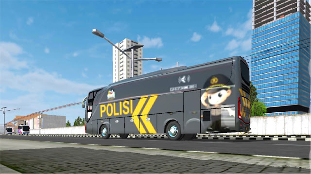 Livery BUSSID Polisi