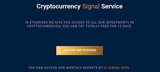 Cryptocurrency Signal Service