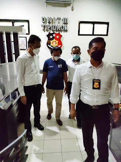 Sat Reskrim Polres Lampung Utara Kembali Menetapkan & Menahan Kepala Desa Terkait Kasus Korupsi