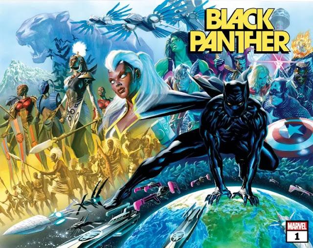 Marvel retrasa 'Black Panther' # 1 de John Ridley hasta noviembre de 2021