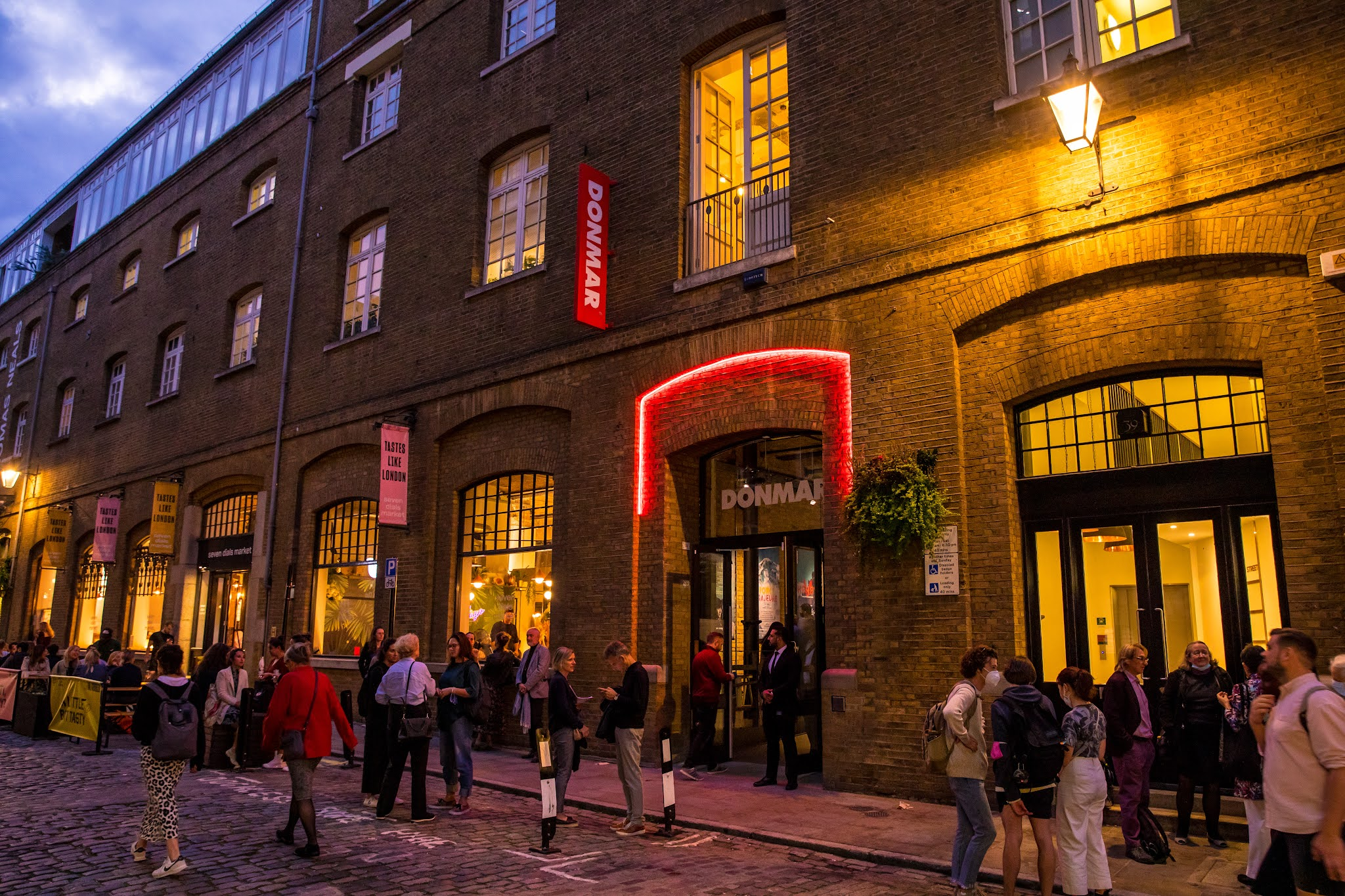 Revamped Donmar Warehouse reopens its doors