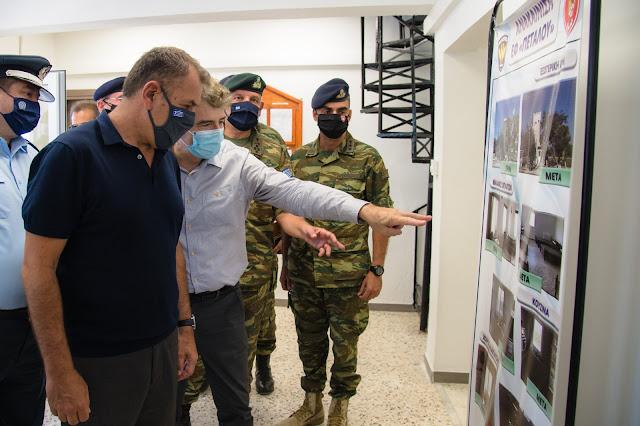 Χρυσοχοΐδης από Έβρο: «Δεν θα επιτρέψουμε καμία παραβίαση συνόρων»