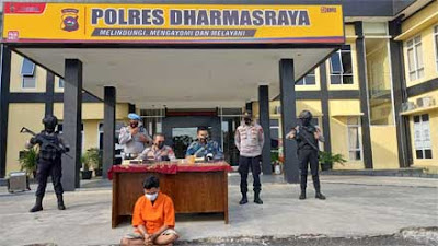 Pemilik Senjata Api Rakitan dan Amunisi Aktif Tanpa Izin Diamankan Polres Dharmasraya