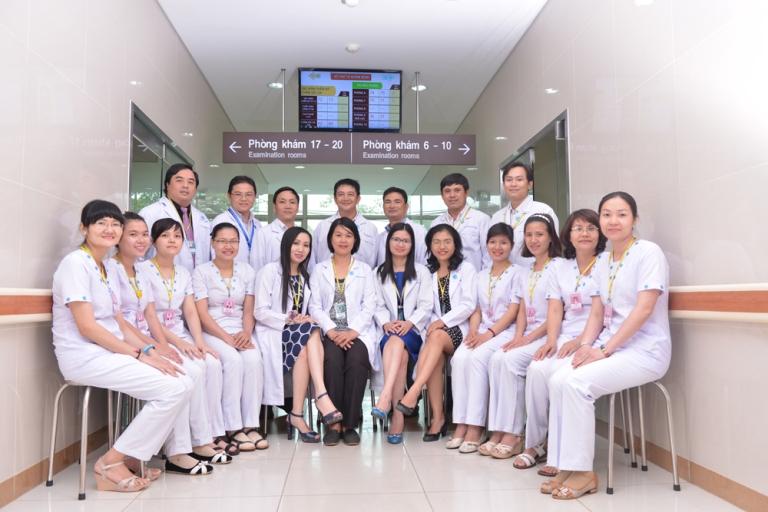 Đội ngũ y bác sĩ tại Bệnh Viện Đại Học Y Dược Huế