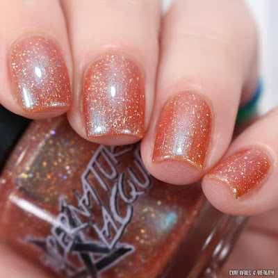 Supernatural Lacquer-The Wolf Man