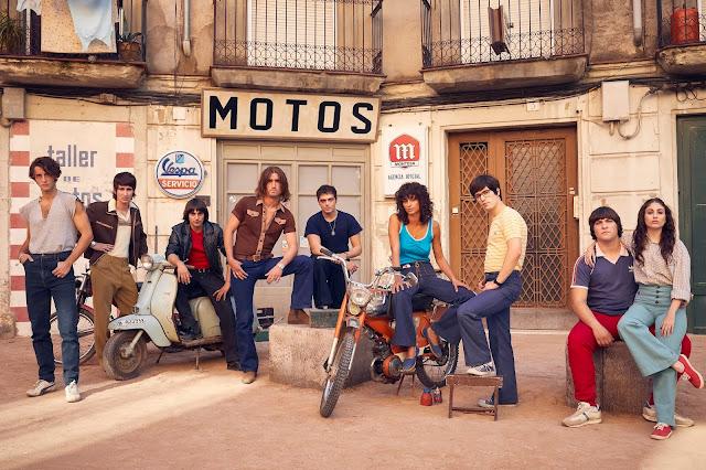 La banda de Zarco (de izquierda a derecha): el Piernas (Daniel Ibañez), el Chino (Jorge Aparicio), Drácula (Victor Manuel Pajares), Zarco (Chechu Salgado), Guille (Carlos Oviedo), Tere (Begoña Vargas), Nacho (Marcos Ruiz), el Gordo (Xavier Martín) y Lidia (Cintia García).