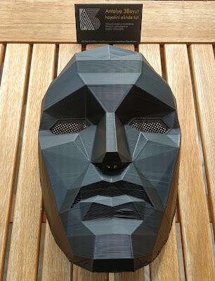 antalya 3d baskı maske