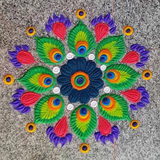 Galicha Rangoli Designs