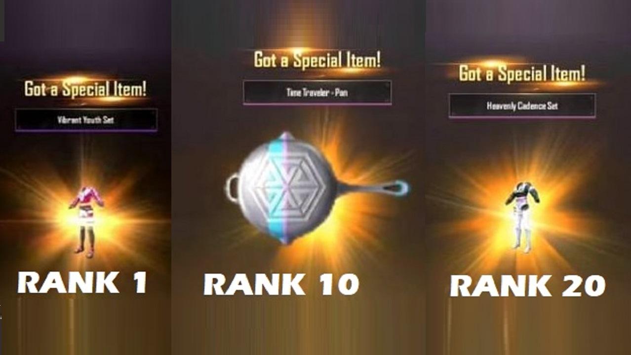 PUBG Mobile Lite WP Season 29 rewards announced