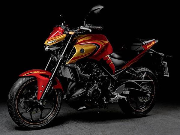 Yamaha MT-03 Iron Man прибывает с ценой R $ 27.790 - фото