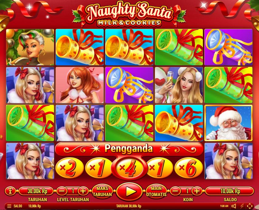 Slot Habanero naughty santa