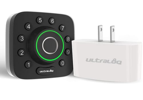 ULTRALOQ U-Bolt Pro Fingerprint and Keypad Smart Deadbolt