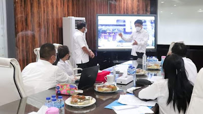 Walikota Manado Bahas Teknis Soal Infrastruktur Kota Bersama Dinas PUPR