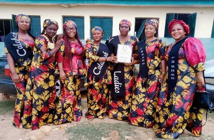 CalabashLadies Empire was presented an award of excellence