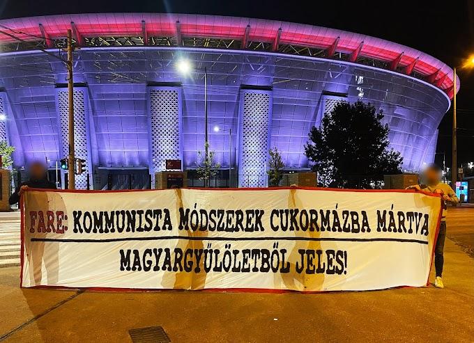 A FIFA besúgó szervezetének üzentek a magyar szurkolók
