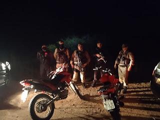 Polícia Militar age rápido e recupera duas motocicletas em Caraúbas