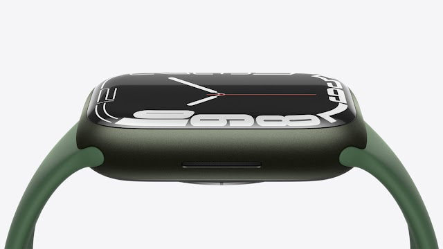 Apple Watch Series 7 features a larger and more advanced display