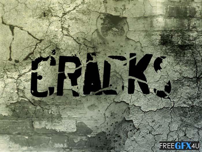 12 Cracks Brushes Pack