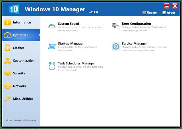Yamicsoft Windows 10 Manager 3.5.6 Multilingual