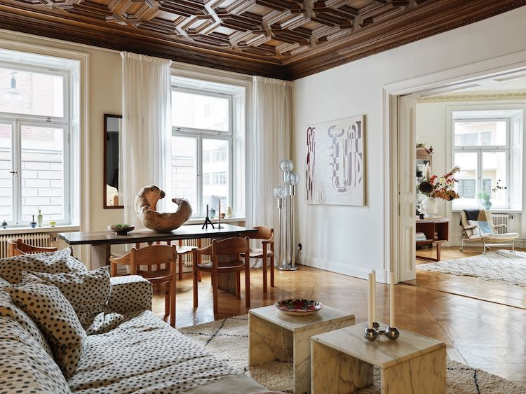An Incredible 19th century Stockholm Home (With a Fascinating Treasure!)