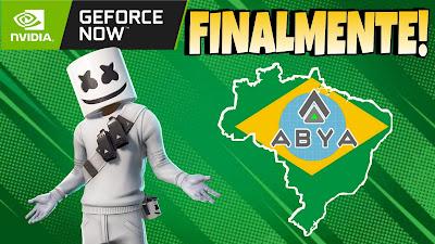 Geforce Now Brasil lançamento
