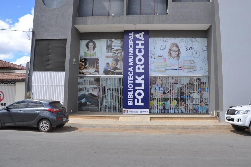 Biblioteca Municipal Folk Rocha e sede da Diretoria de Cultura estão de casa nova