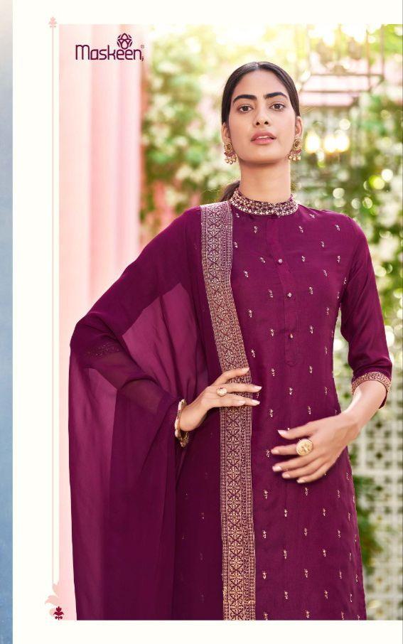 Maisha Maskeen Aamira Vol 2 Readymade Salwar Suits Catalog Lowest Price