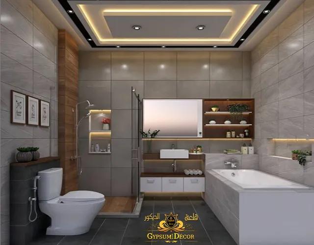 ديكورات حمامات مودرن ( modern bathrooms )